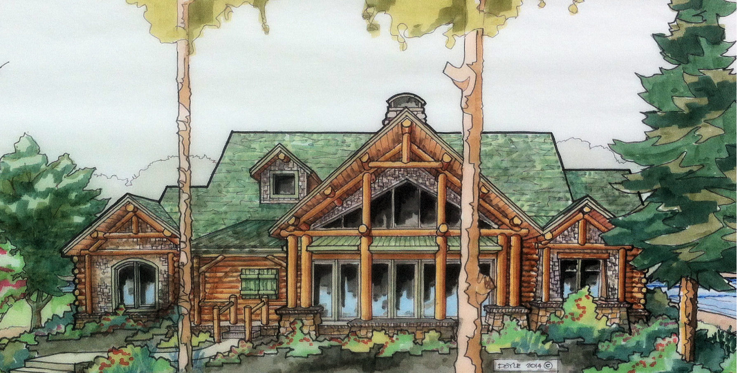 Lodge Custom Cabin Design in Van Buren, AR
